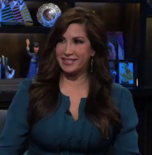 Jacqueline Laurita on Watch What Happens Live debuts neck lift plastic surgery
