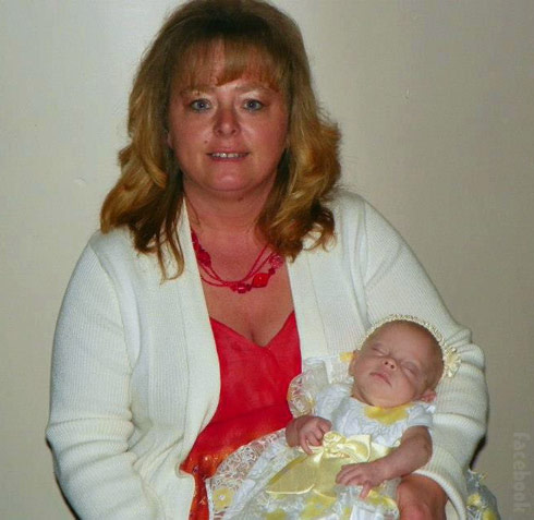 Momma Dawn Spears and Adalynn Faith Calvert