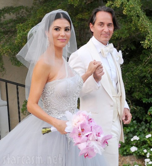 Adriana de Moura marries Frederic Marq in Great Gatsby themed wedding May 17 2013