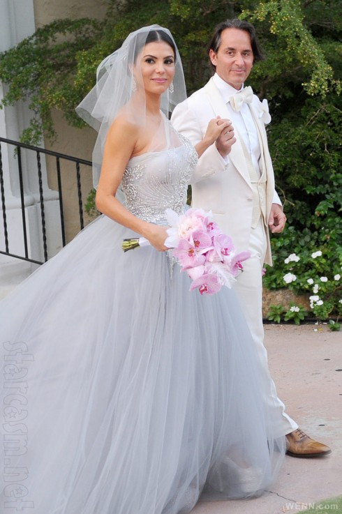 Real Housewives of Miami Adriana de Moura wedding with Frederic Marq