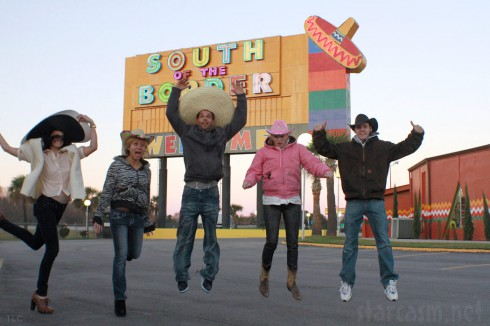 Breaking Amish Brave New World cast at South of the Border in South Carolina