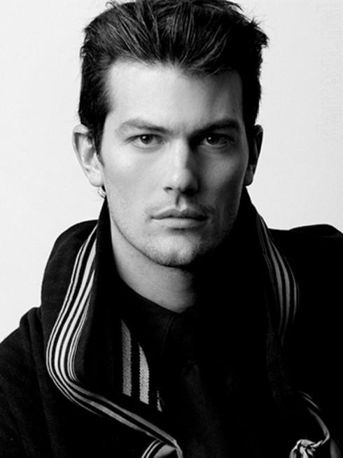 The Bachelorette's Brooks Forester modeling photo