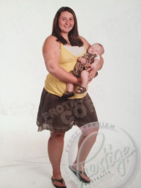 Teen mom yearbook photo banned