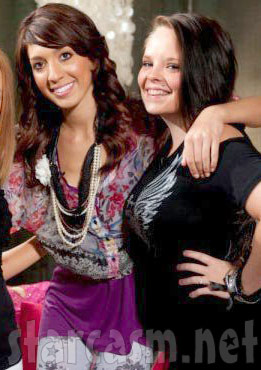 Teen Moms Catelynn Lowell and Farrah Abraham together