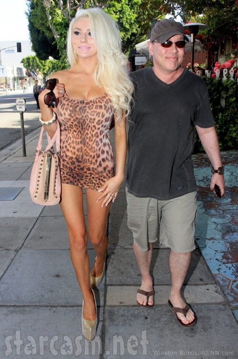 Dourtney Courtney Stodden and husband Doug Hucthison