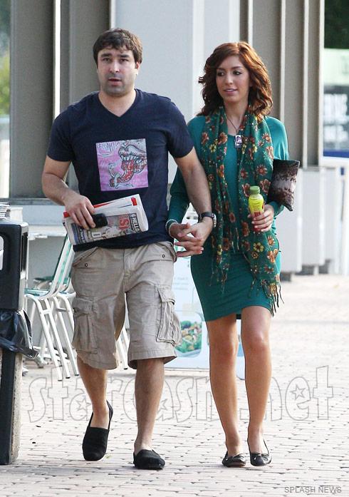 Farrah Abraham with ex-boyfriend Marcel Kaminstein