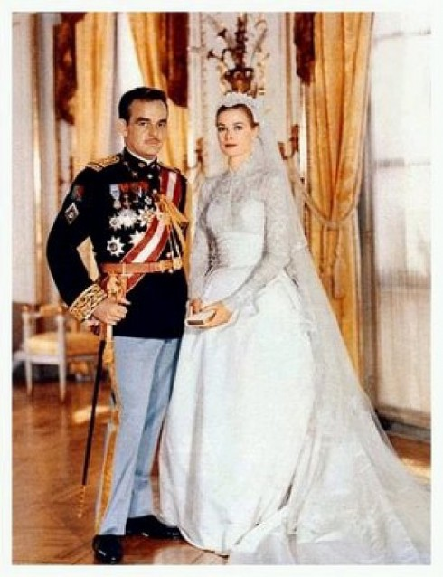 Grace Kelly Wedding to Rainier III