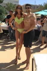 Heather McDonald bikini photo with Eddie Judge without a shirt
