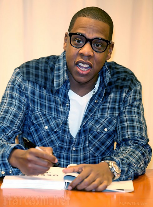 Jay-Z with glasses