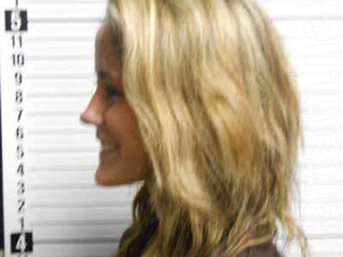 Jenelle Evans mugshot photo profile smiling May 20 2013