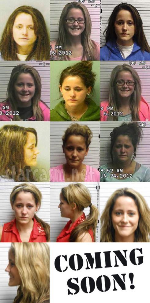 All of Jenelle Evans' mug shot photos