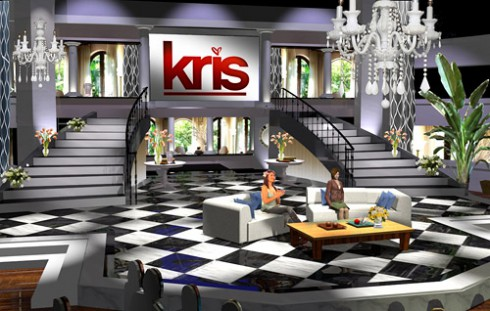 Kris Jenner's talk show set The Kris Show