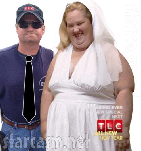 Here Comes Honey Boo Boo Mama June Shannon wedding photo with Sugar Bear