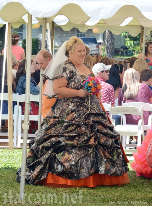 Honey Boo Boos Mama June wedding photo