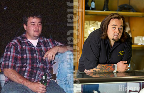 Old photo of Austin Russell aka Chumlee from Pawn Stars