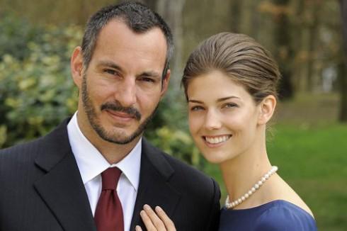 Prince Rahim Aga Khan and Kendra Spears