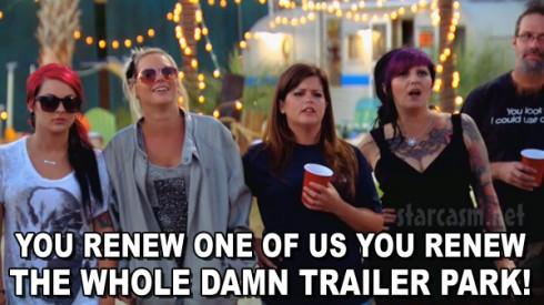 Welcome To Myrtle Manor Season 2 You renew one of us you renew the whole damn trailer park