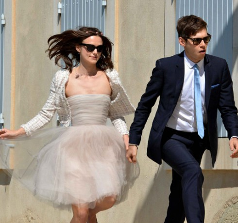 Keira Knightley Recyced Wedding Dress