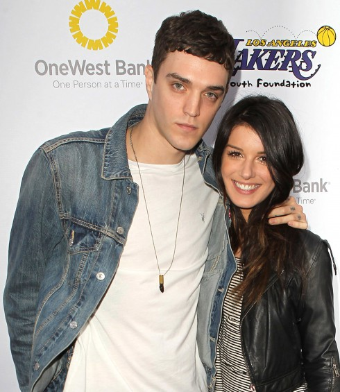 Josh Beech and Shenae Grimes attend Lakers Casino night fundraiser on March 10, 2013. (Photo: FayesVision/WENN.com)