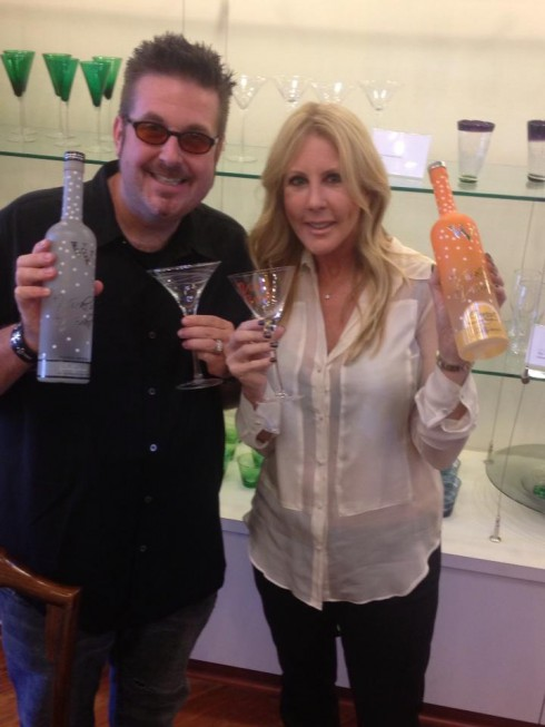 Robert Williamson III and Vicki Gunvalson for Vicki's Vodka