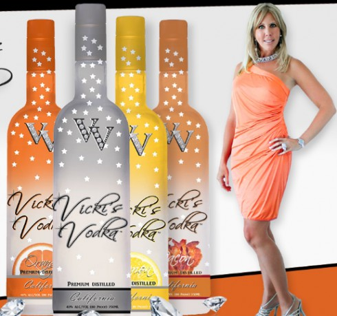 Vicki Gunvalson for Vicki's Vodka