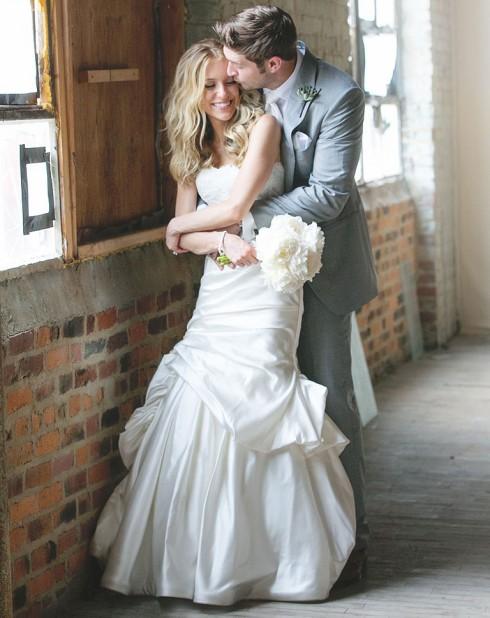Kristin Cavallari and Jay Cutler official wedding photo