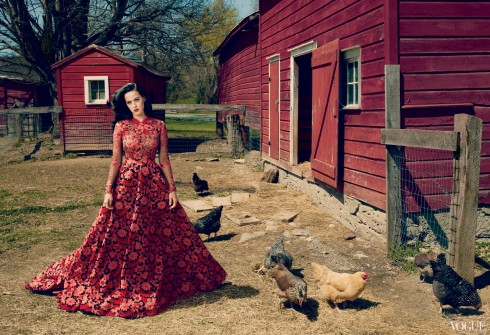 Katy Perry in Vogue Magazine July 2013 issue