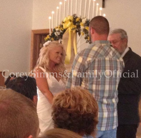 Miranda Patterson and Corey Simms say their I do's at wedding in West Virginia