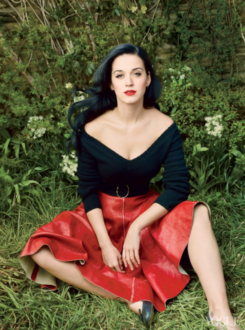 Katy Perry in Vogue Magazine July 2013