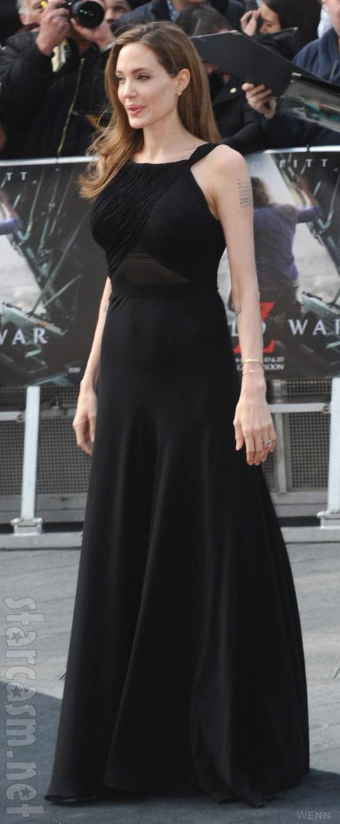 Angelina Jolie post-mastectomy photo