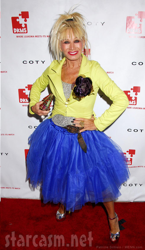 Miss USA judge fashion designer Betsey Johnson