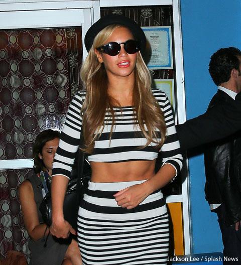 Beyonce abs