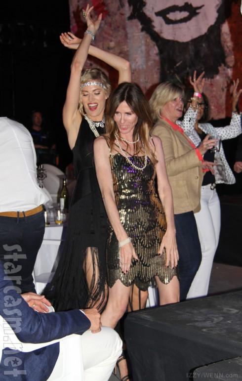 Carole Radziwill partying