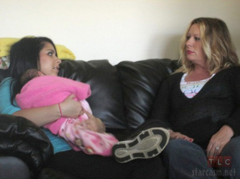 Chae Childers and mom Lorna Childers My Teen Is Pregnant and So Am I