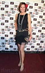 Countess LuAnn de Lesspes red carpet at Sonja Morgan's cabaret