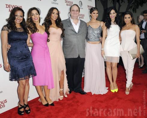 Devious Maids Premiere party Judy Reyes, Ana Ortiz, Dania Ramirez, Marc Cherry, Roselyn Sanchez, Edy Ganem and Eva Longoria