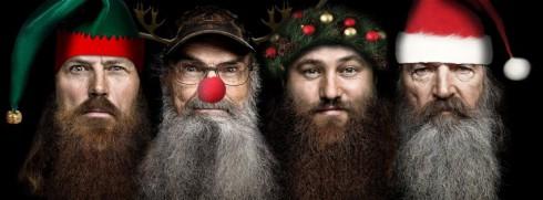 Duck Dynasty Christmas beards