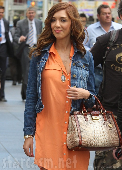 Farrah Abraham after her second boob job in NYC June 2013