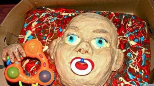 Freaky Baby Cake