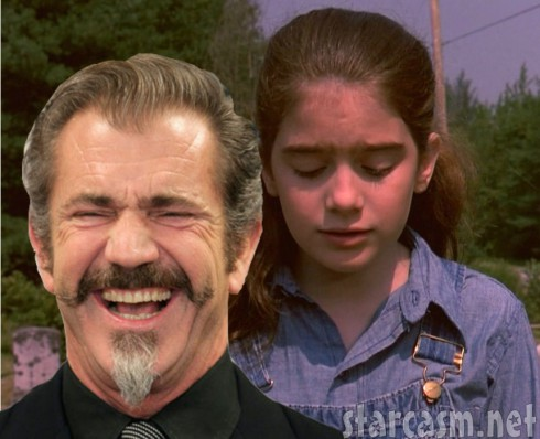 Mel Gibson made Gaby Hoffman cry