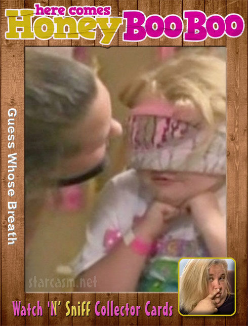 Honey Boo Watch N Sniff Collector Cards