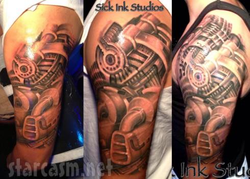 Kailyn Lowry's husband Javi Marroquin's arm tattoo