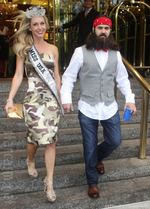 Duck Dynasty Jep and Jessica Robertson Miss USA judge