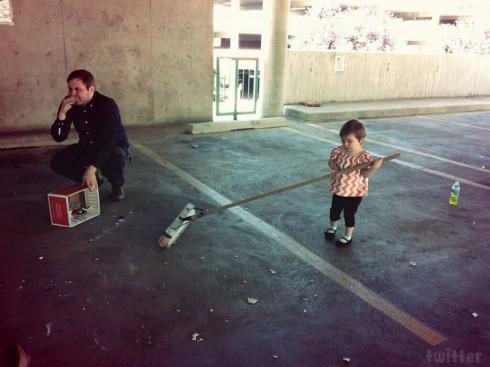 Katie Yeager's daughter Molli Broken video behind the scenes