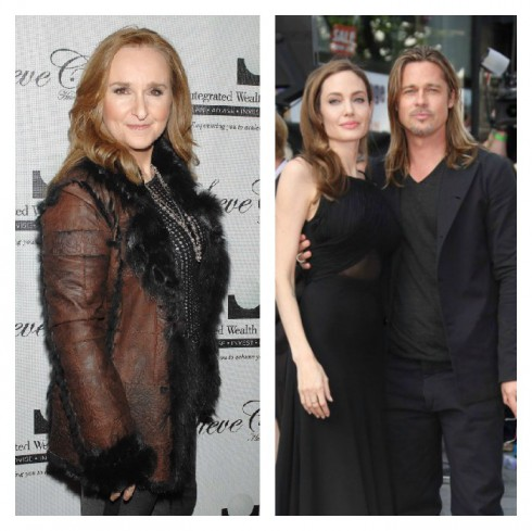 Melissa Etheridge Brad Pitt