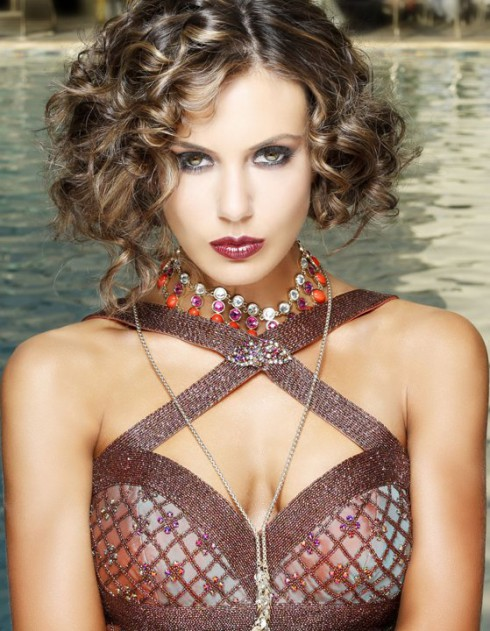 Miss USA 2013 Erin Brady glamor photo by Fadil Berisha inspired by The Great Gatsby