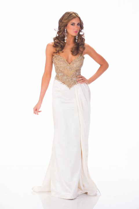 Miss USA 2013 Erin Brady evening gown competition photo