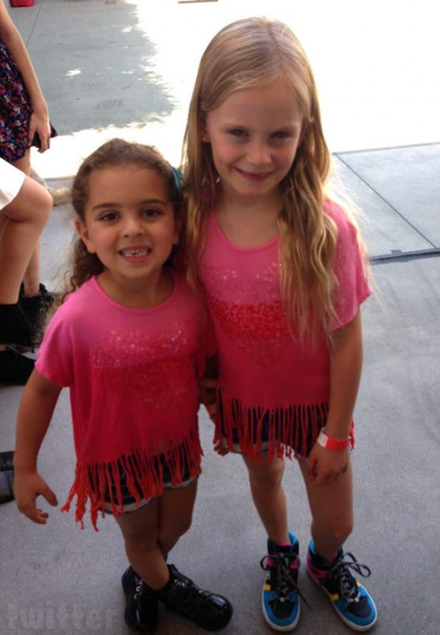 Kyle Richards' daughter Portia Umansky and Taylor Armstrong's daughter Kennedy together
