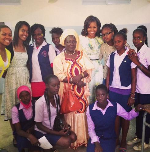 Michelle Obama First Instagram