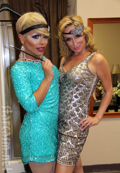 Sonja Morgan Great Gatsby burlesque cabaret